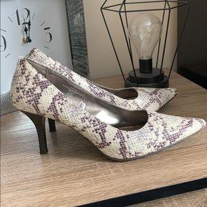 Shoes - Merona snakeskin heels!